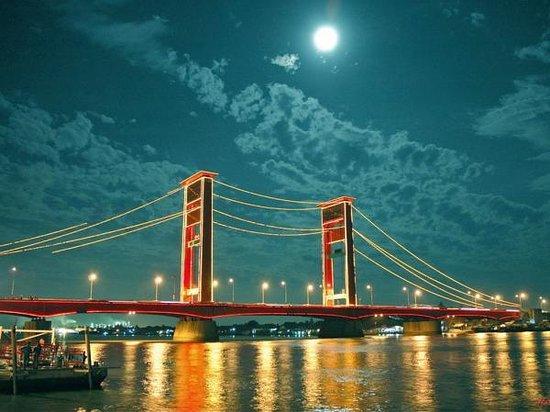 Jembatan Ampera Palembang Indonesia  Review