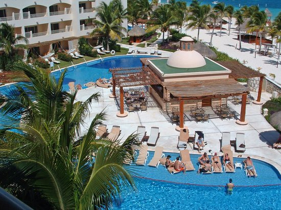 The Excellence Pool And Cielo Bar From Our Balcony Picture