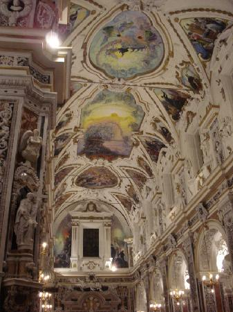 Casa Professa  il soffitto affrescato  Picture of Chiesa del Gesu Palermo  TripAdvisor