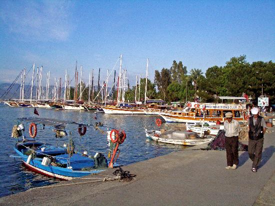 Fetiye, Harbor, Boarwalk, cruises