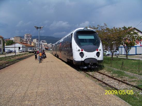 Train From Ajjacio To Corte 1 Of 3 Picture Of Corsica