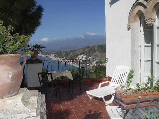 la terrazza della camera 10  Picture of Hotel Bel Soggiorno Taormina  TripAdvisor