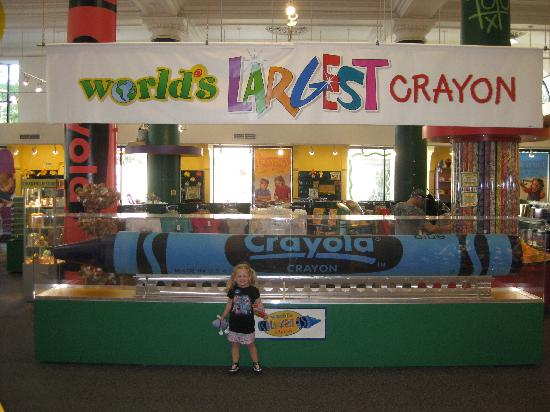 Crayon Crayola Factory Easton Pa