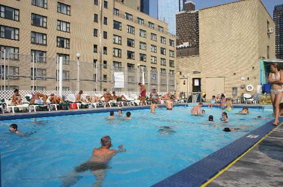 La piscina sul tetto  Picture of The Watson Hotel New York City  TripAdvisor