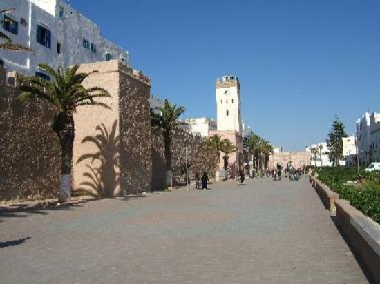 Avenue Oqba Ibn Nafiaa in Essaouira