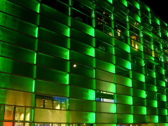 Facade - 40,000 LEDs illuminate the Ars Electronica Center