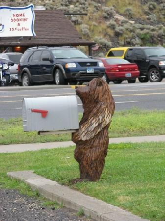 mailbox of the motel