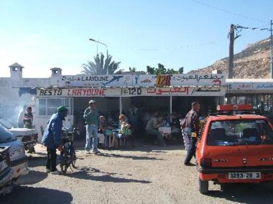 Restaurant Laayoune, Agadir Port approach