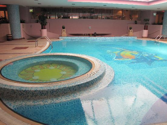 Hot Tub And Indoor Pool Picture Of Al Raha Beach Hotel