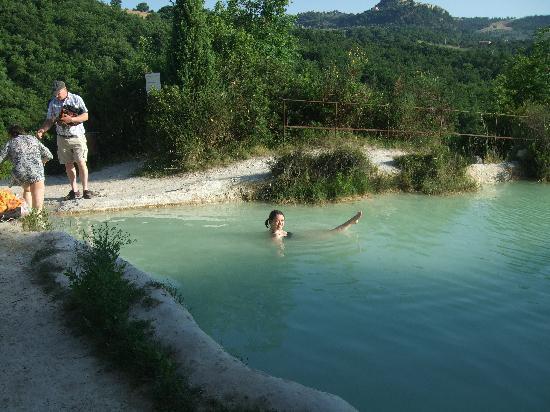 Bagno Vignoni view  Picture of Bagno Vignoni Province of