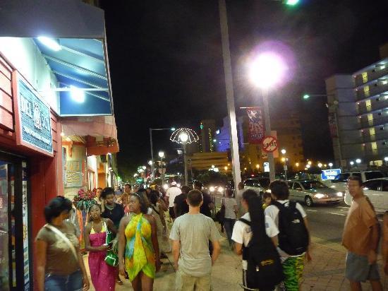 Virginia Beach Boardwalk Night