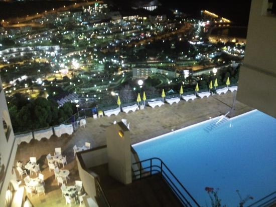 Colina Mar Main Pool At Night Picture