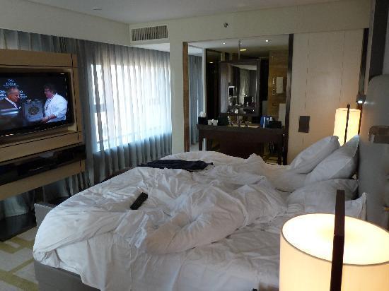 Top Hilton Beijing Wangfujing Chambre En Desordre Un Matin