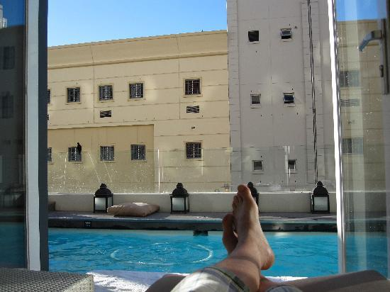 Pool decklounge  Picture of Protea Hotel Fire  Ice by