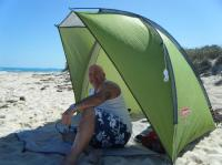 Beach tent, Highly recommend (from Can Tire) - Picture of ...