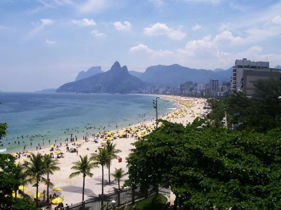Bilder fra Ipanema Beach, Rio de Janeiro
