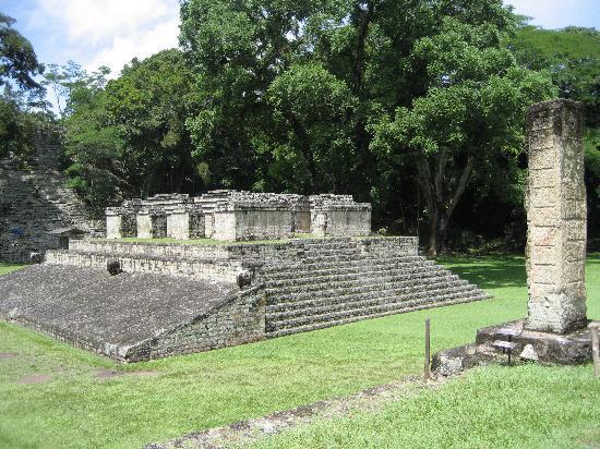 Les Ruines de Copan: 遺跡群