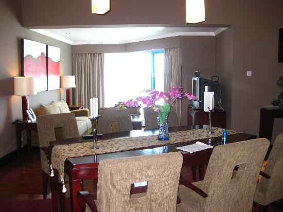 dining table in living room pictures tile ideas and picture of blue sky hotel balikpapan