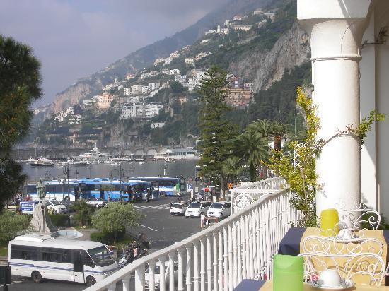 La vista dalla terrazza  Picture of Hotel Residence Amalfi Amalfi  TripAdvisor