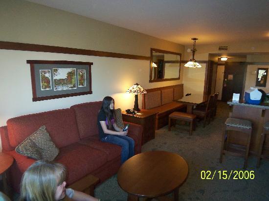 Disney S Grand Californian Hotel Spa Dvc Villas Living Room And