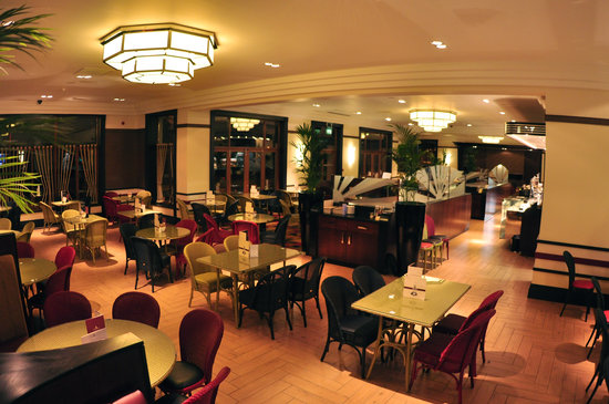 Inside the World Famous Art Deco Cafe