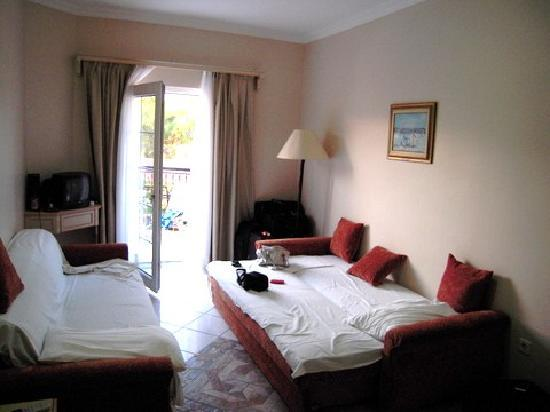 beds for living room grey and white curtains the 2 sofa cum picture of tropicana beach hotel gumbet tripadvisor