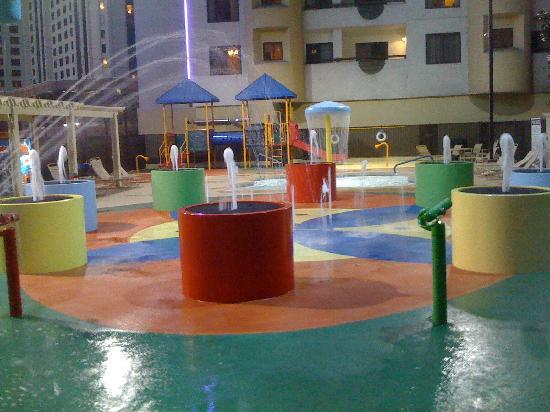 Kids poolwater area  Picture of Polo Towers Suites Las