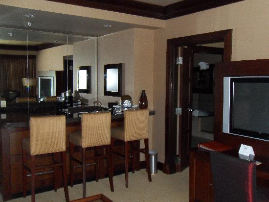 Bar area in suite living room  Picture of Silver Reef Hotel Casino Spa Ferndale  TripAdvisor