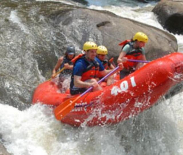 Wilderness Voyageurs Upper Yough Class 5 Fun