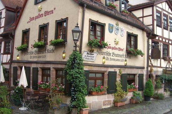 Zum Gulden Stern Nuremberg Altstadt St Lorenz