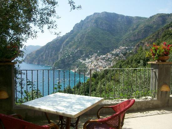 La terrazza della colazione  Picture of Rifugio degli Dei Positano  TripAdvisor