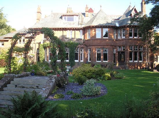 The Savoy Park Is A Beautiful Old Red Sandstone Mansion With