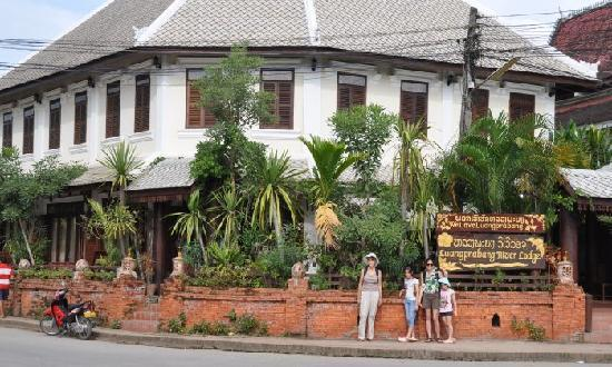 The Lodge From The Street Picture Of Luang Prabang River