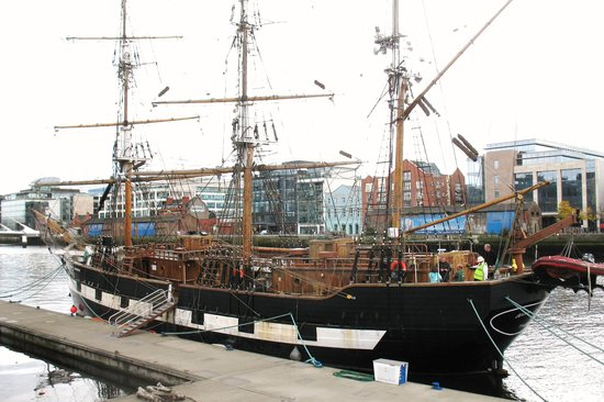 Jeanie Johnston Famine Ship  Picture of Jeanie Johnston Tall Ship and Famine Museum Dublin