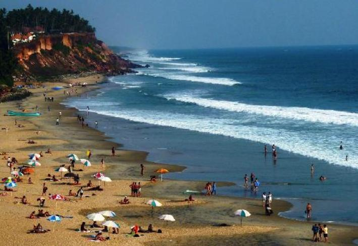 Image result for Varkala Beach photography