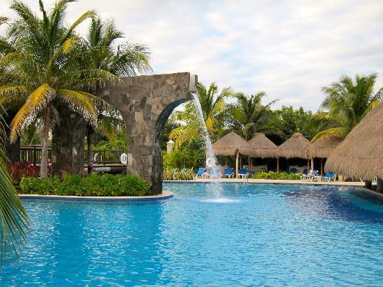Pool Waterfall Picture Of Valentin Imperial Maya Playa