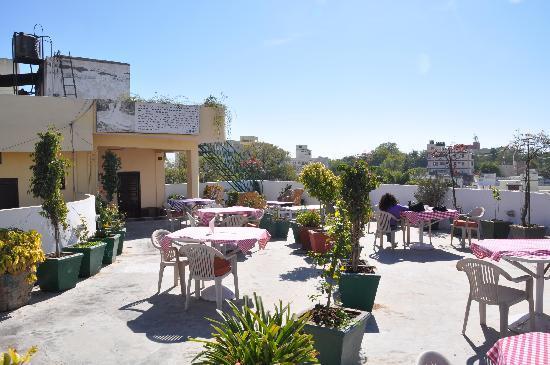 Terrace Picture Of Hotel Mewar Inn Udaipur Tripadvisor