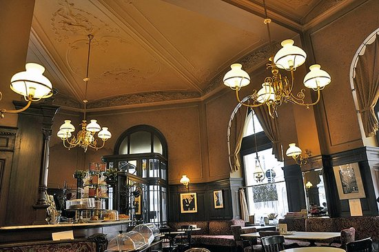 Cafe Central Opened In 1876 And Was A Por Stop For Intellectuals Such As Alfred Adler