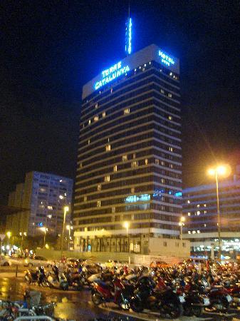 fachada del hotel desde sants fotografa de Gran Hotel