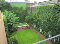 Backyard garden view from balcony - Picture of Cabrera ...