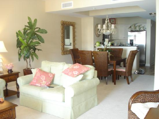dining table in living room pictures mirror wall decoration ideas livingroom and kitchen picture of north beach plantation
