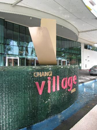 Entrance To The Changi Village Hotel Picture Of Village