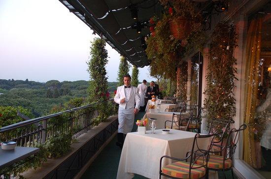 vista terrazza  Picture of Mirabelle Rome  TripAdvisor