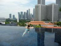 Morning view from the rooftop pool - Picture of Naumi ...