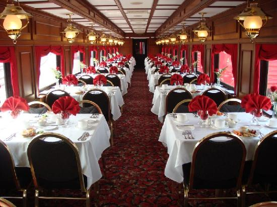 Dining Cart Picture Of My Old Kentucky Dinner Train