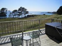 View from back patio of Coombs Cottage - Picture of Little ...