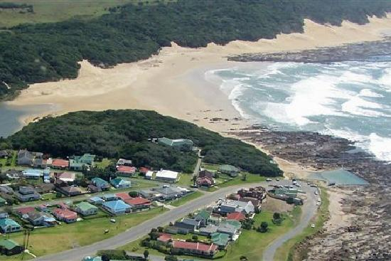 Aerial View Of Kidds Beach Near East London Picture Of