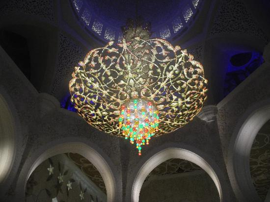 Sheikh Zayed Mosque Chandelier Inside The Most Expensive In World