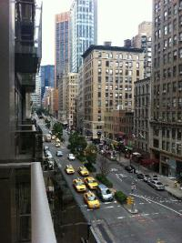 Great balcony views as well... - Picture of Gansevoort ...