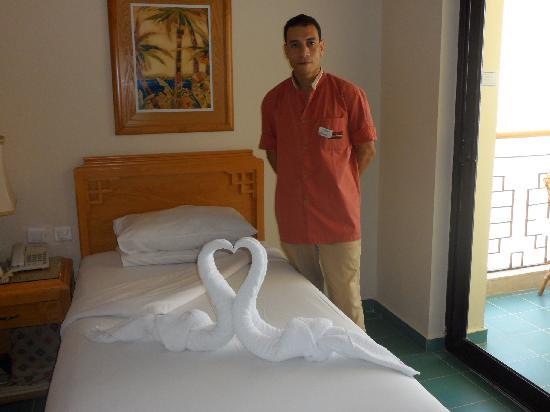 Osama room attendant room 748  Picture of SUNRISE